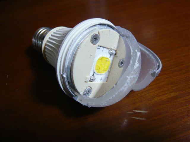 LED電球 シャープ製 DL,J40AN を分解してみた